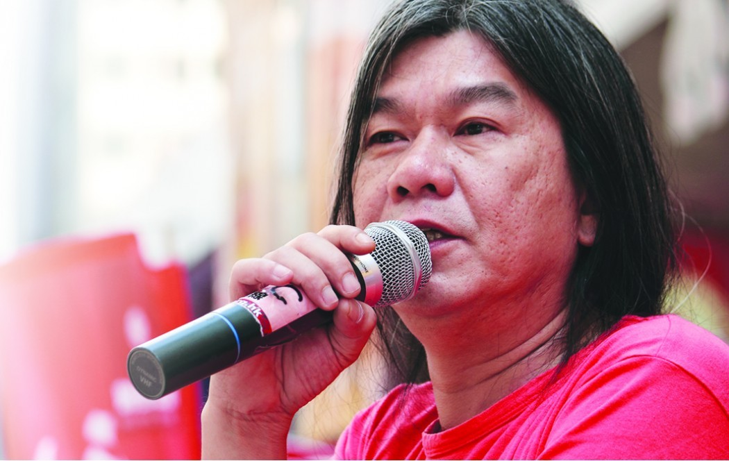 Legislator Leung Kwok-hung