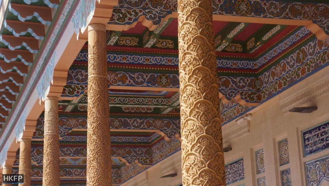 Samarkand's Hazrat-Hizr Mosque, Tomb of Islom Karimov.