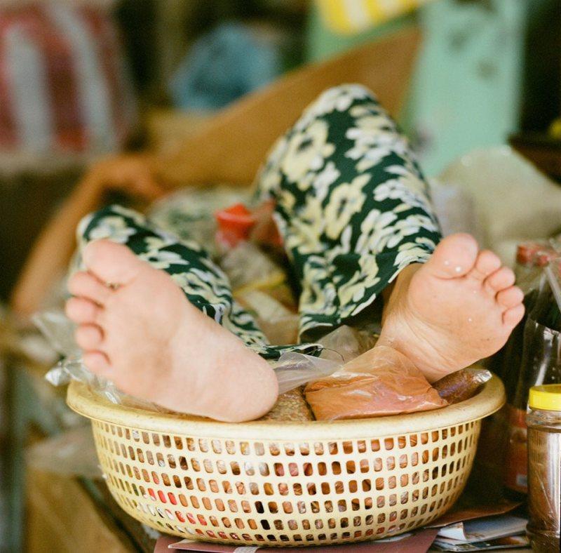 vietnam, feet