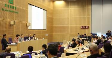 Sai Kung District Council meeting. Photo: GovHK.