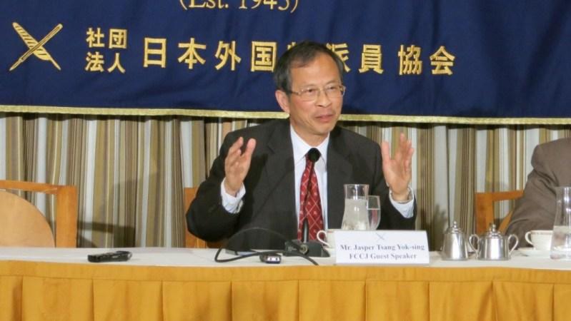 Legislative Council President Jasper Tsang Yok-sing