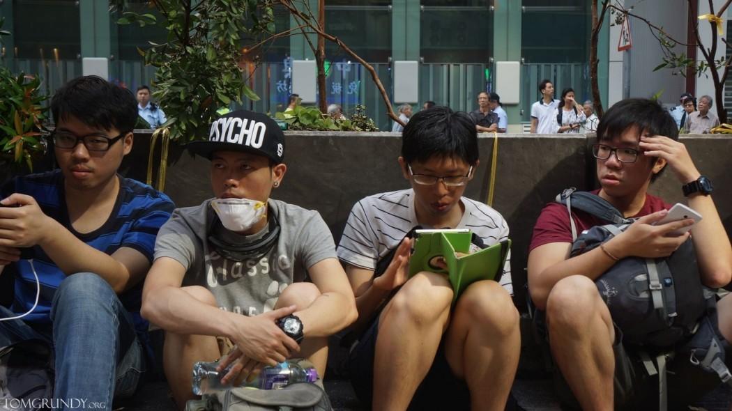 Protestors Mong Kok