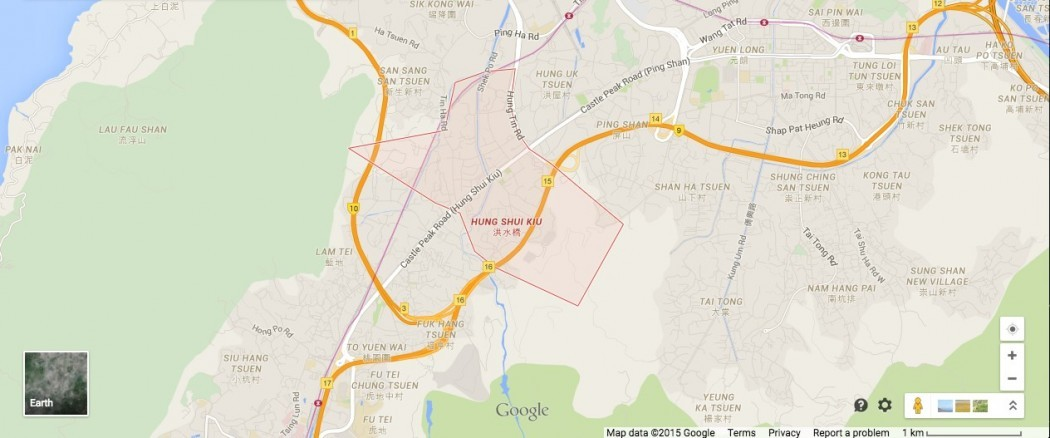 Hung Shui Kiu location