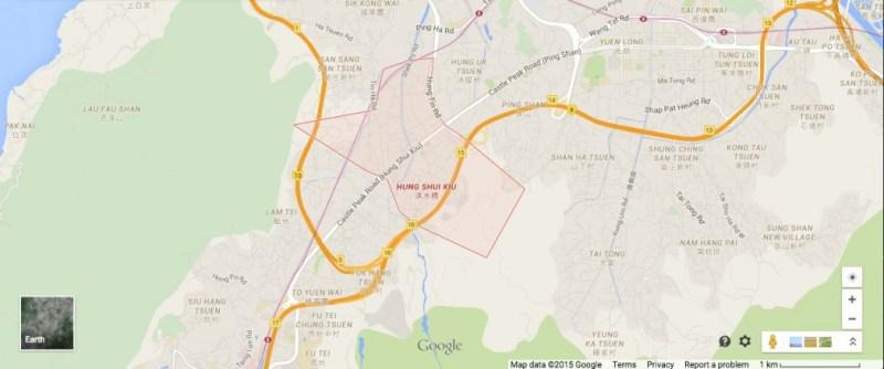 Hung Shui Kiu location