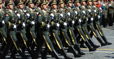 PLA in Red Square