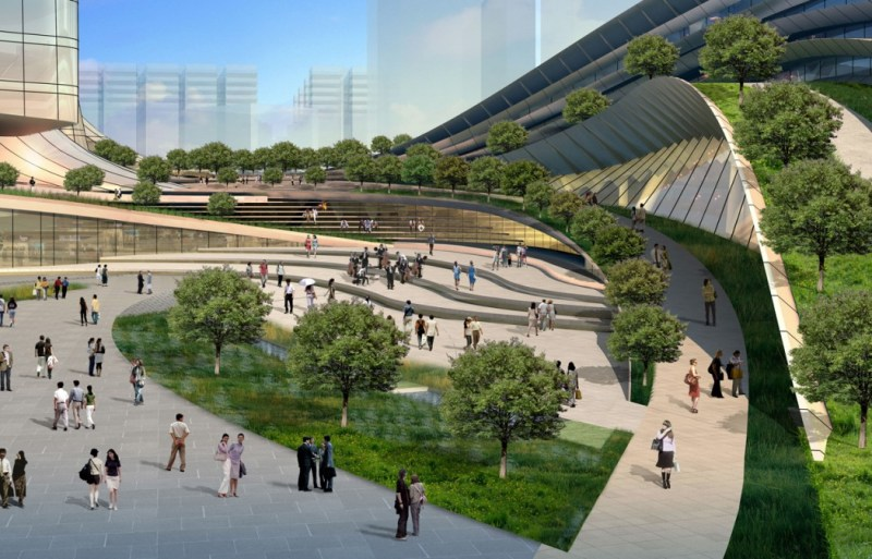 HK-Guangzhou high-speed railway terminus