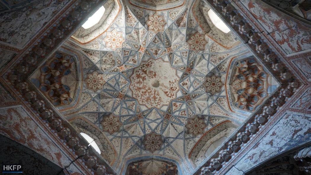 Bukhara's Abdul Aziz Kahn Madressa.