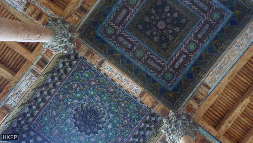 Bukhara's Bolo-Hauz Mosque.