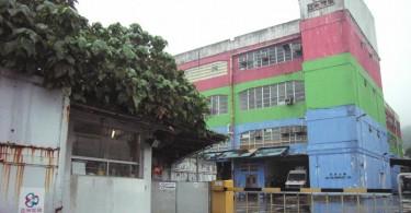 Former ATV studio building in Ho Chung