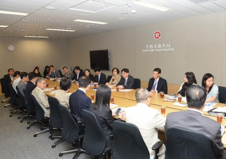 Hong Kong officials meeting to discuss on MERS outbreak in Korea