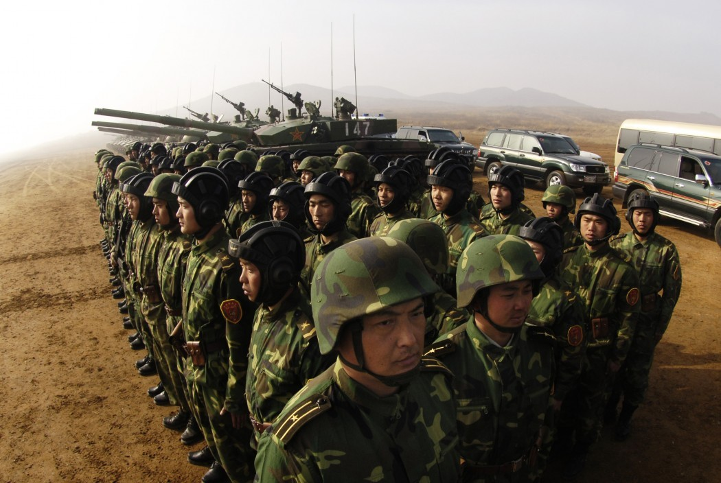 Chinese land army