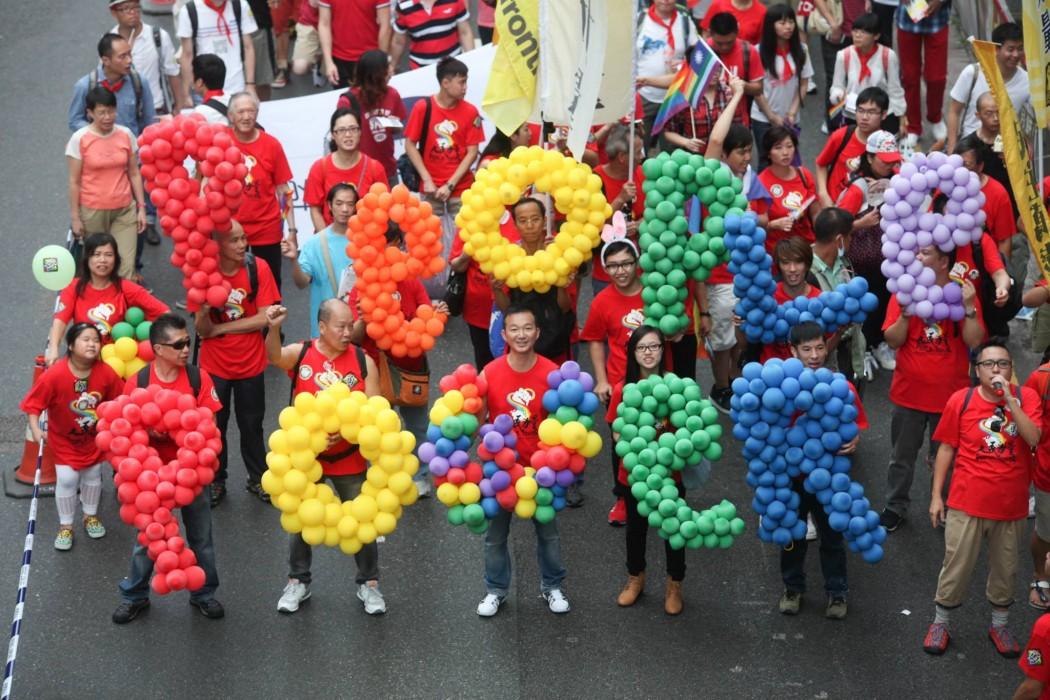ray chan people power hong kong pride parade