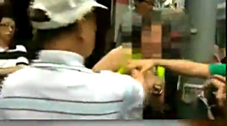 occupy mong kok protestor