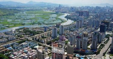 Hong Kong-Shenzhen border