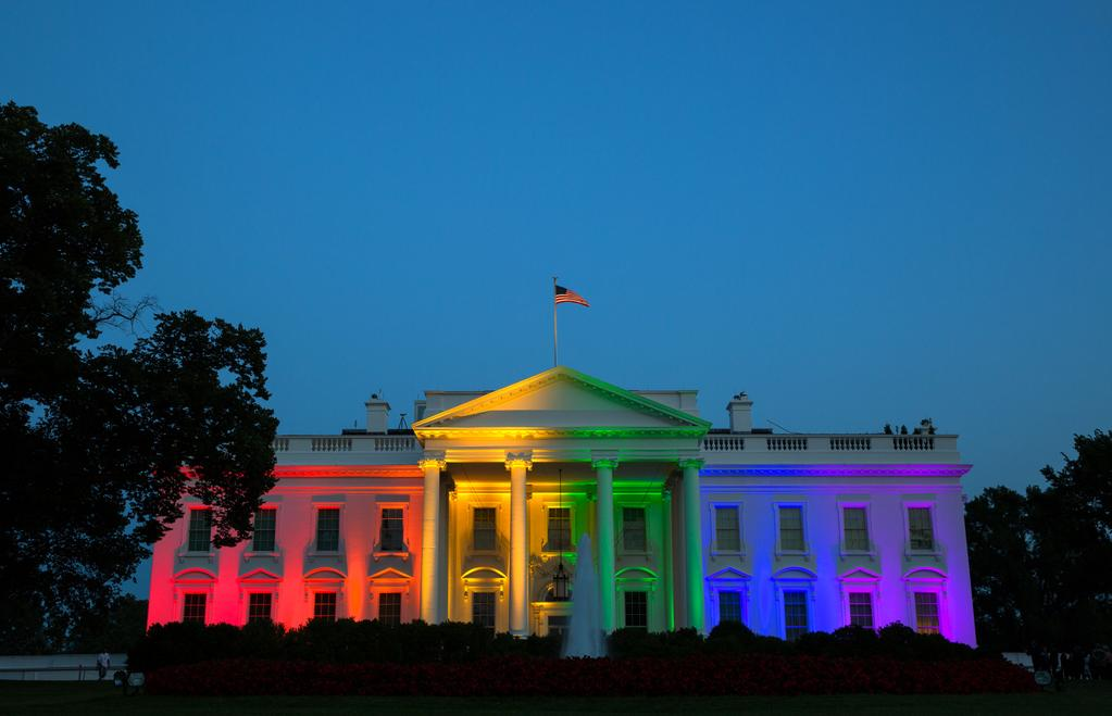 white house rainbow same sex marriage
