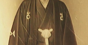 Adolf Hitler in Japan dress