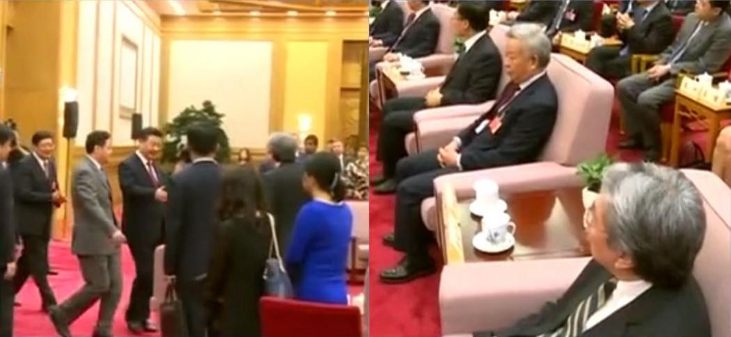 xi jinping handshake john tsang