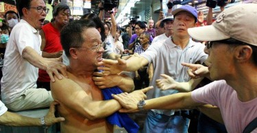 Localist protest Hong Kong