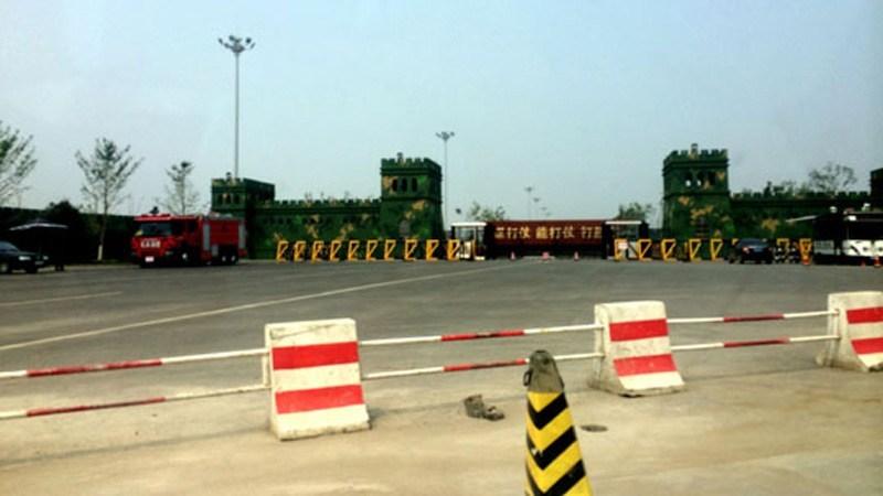 gate Tiananmen Square replica