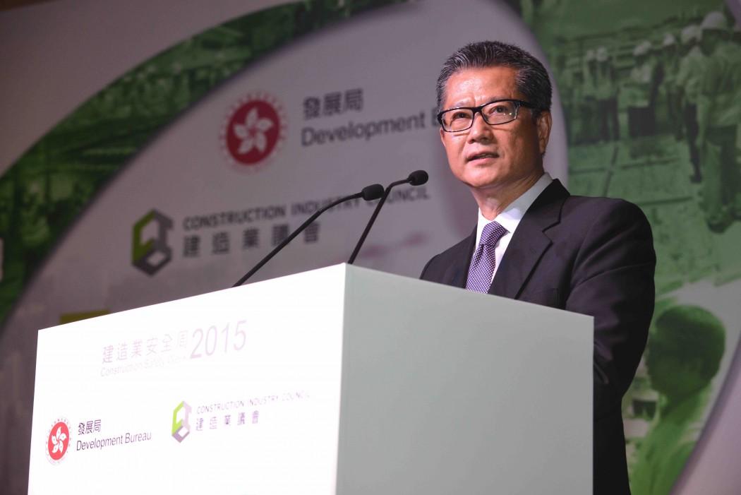 Secretary of Development Paul Chan Mo-po