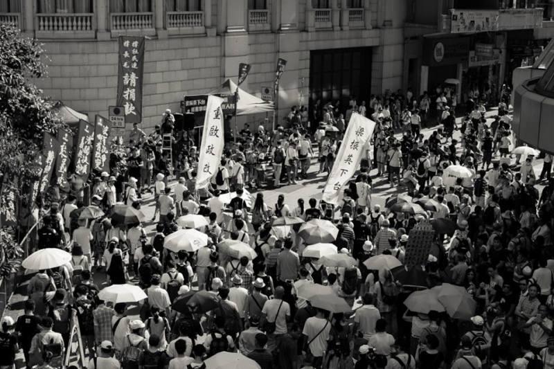july 1 march hong kong