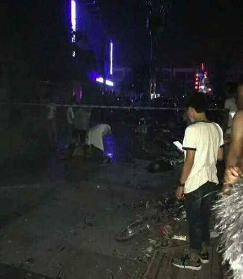Shandong suicide bombing