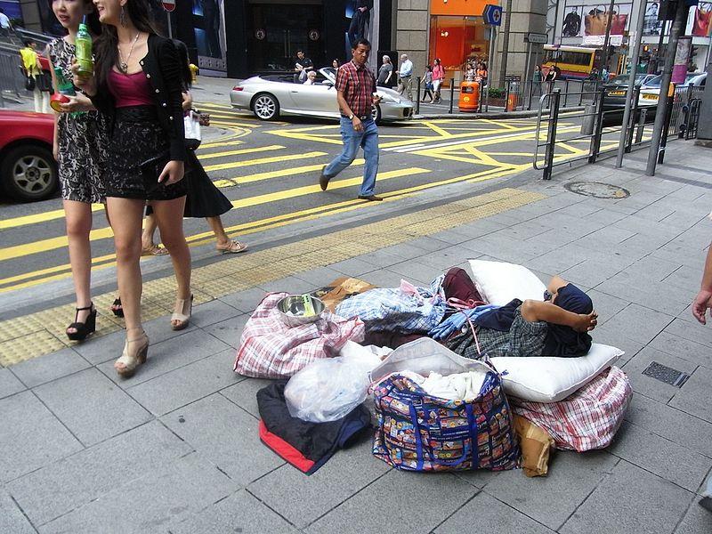 beggar central hong kong