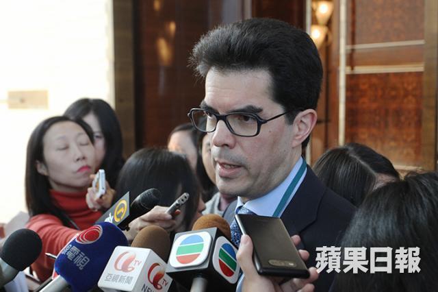 David Webb. Photo: Apple Daily.