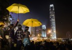 hong kong occupy protest umbrella