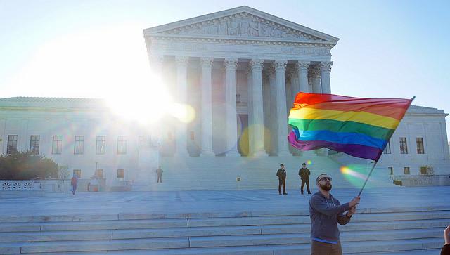 supreme court rainbow flag lgbtq same sex marriage