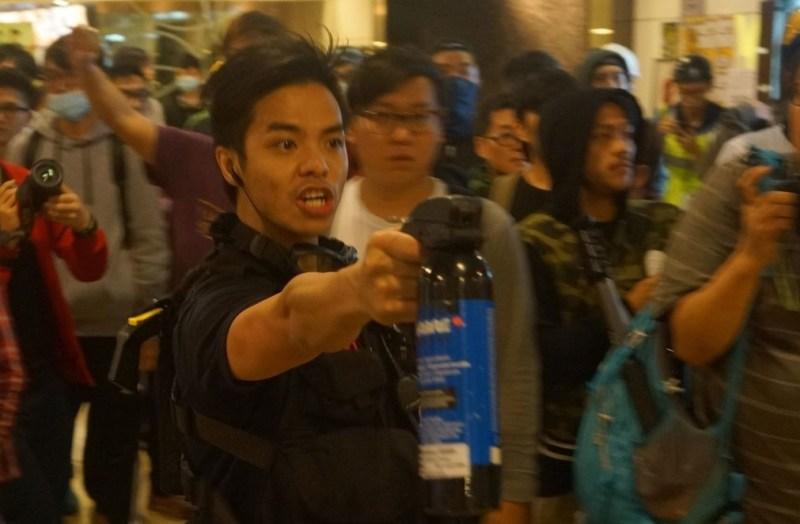 occupy police pepper spray