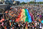 Gay pride parade in Turkey