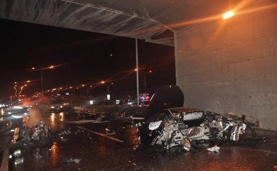 ling gu car crash