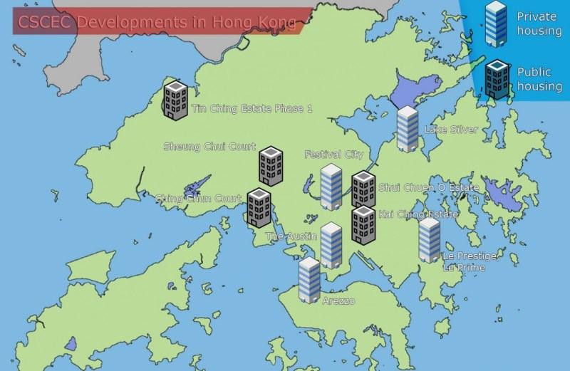 CSCEC property developments