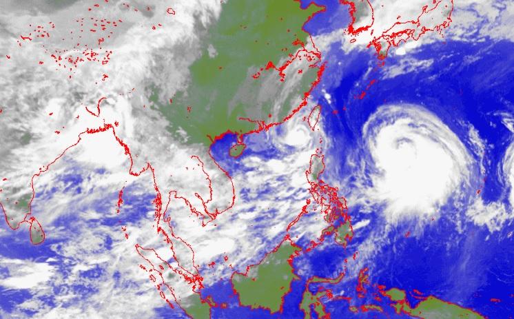 severe tropical storm linfa