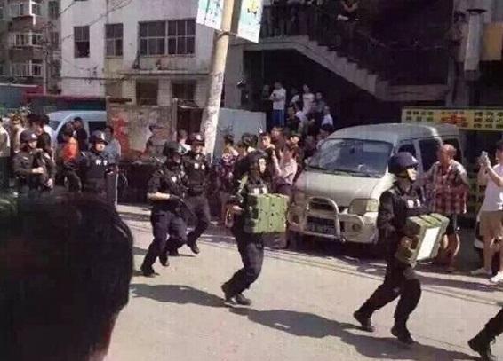 china Uyghur tension