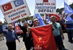 turkey anti-China protest