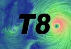 T8 typhoon warning Linfa
