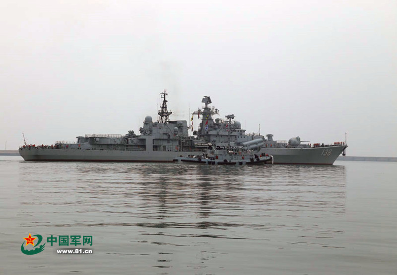 china-russia joint naval drill