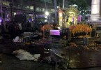 Site of Bangkok explosion