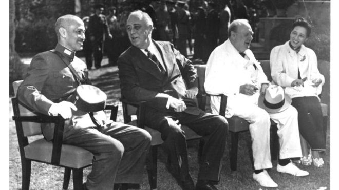Allied leaders in Cairo