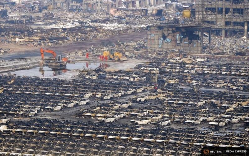Tianjin explosions