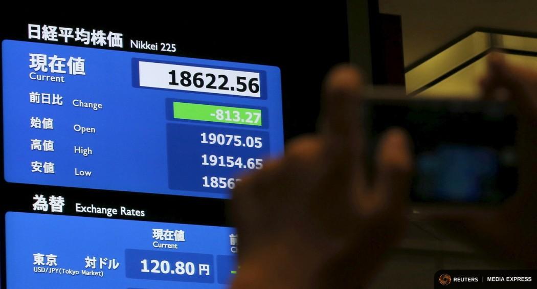 Stock market shanghai