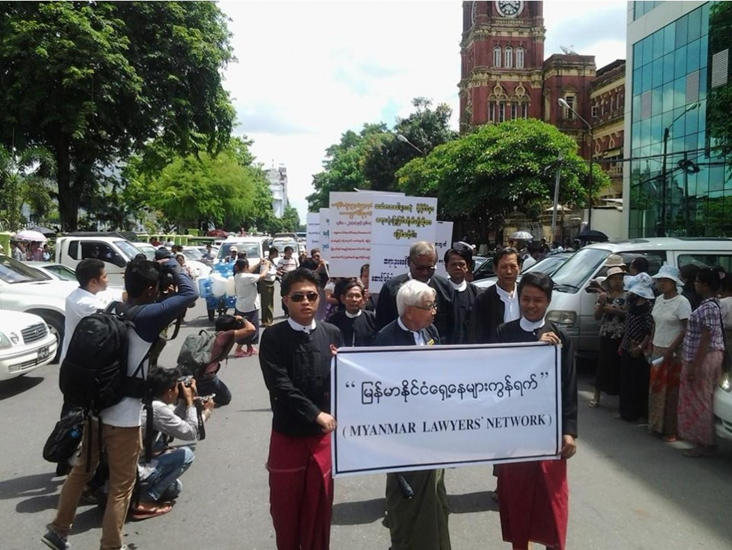 thai lawyer protest