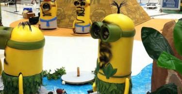minion figures shatin mall