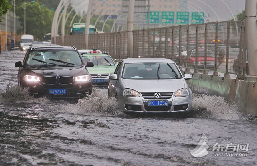 Flooding in Shanghai
