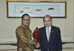 labour sec meeting indonesian minister