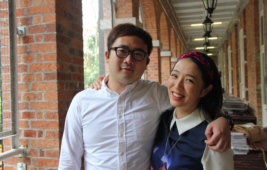 oung actors Mak Pui-tung and Joanna Ko Siu-man.