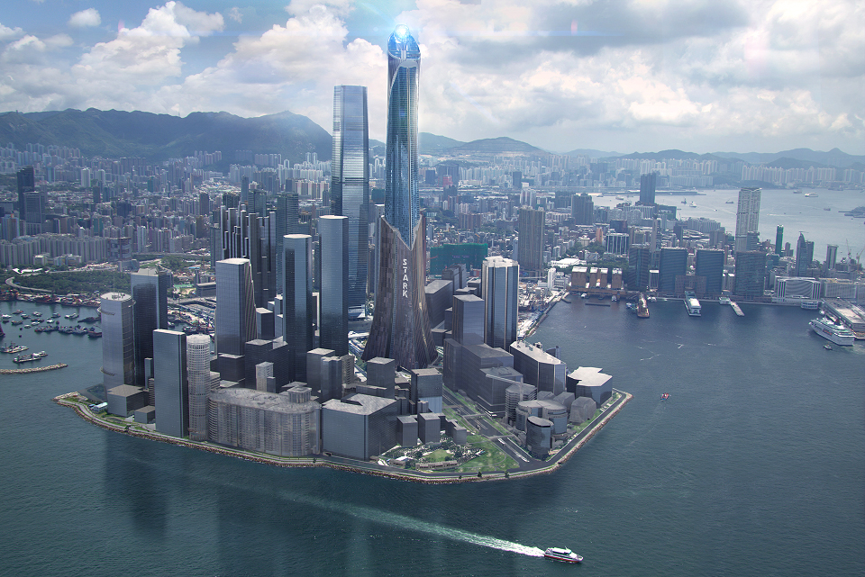 Hong Kong Stark Tower in West Kowloon