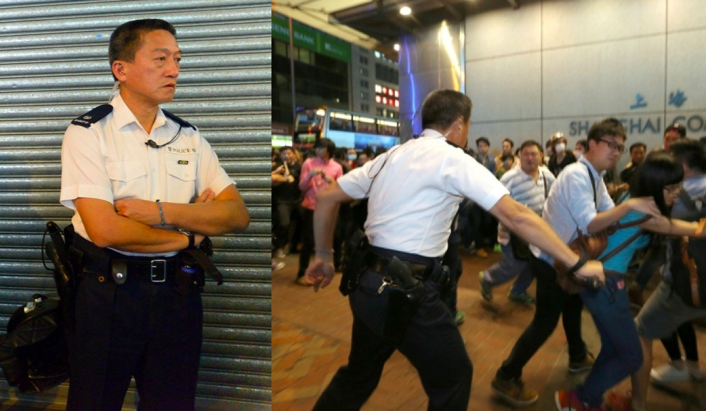 chu king wai occupy hong kong police